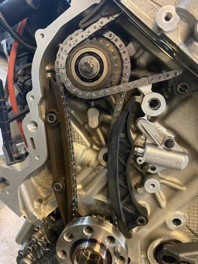 Die neue Steuerkette des BMW B38B15A Motor