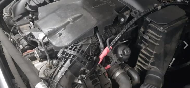 BMW F11 535d mit 313PS ( N57D30B ) Motorschaden – Teil 1