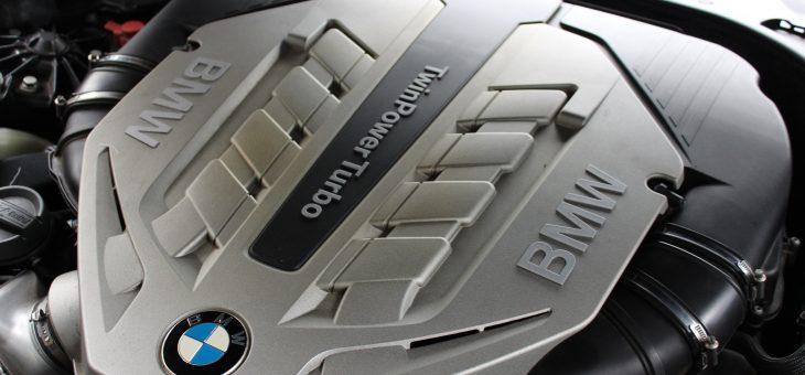 BMW F12 650i N63B44A N63 Cabrio mit der Vermutung auf einem Zylinderlaufflächenschaden