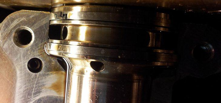 Mini Cooper Konstruktionsfehler, die Rechteckringe auf der Nockenwelle folge Zylinderkopfschaden