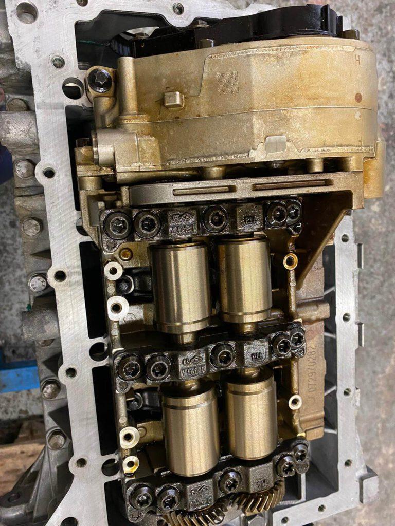 blockierte Ölpumpe beim BMW 116i N43B20 - Motorschaden